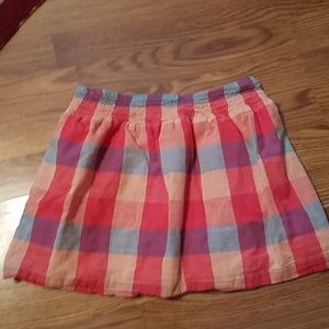 Aeropostale sz small Plaid front pockets lined